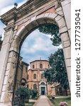 early christian church san... | Shutterstock . vector #1277735041