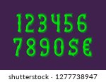 lamellar numbers with currency... | Shutterstock .eps vector #1277738947