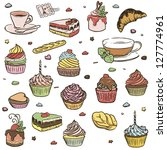 illustration of delicious... | Shutterstock . vector #127774961