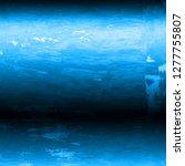 blue metal texture grunge... | Shutterstock . vector #1277755807
