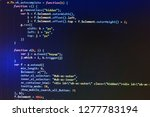 php code abstract technology...