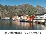 Henningsvaer  Norway   July 4 ...