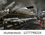 rubber gloves production line    Shutterstock . vector #1277798224