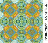 seamless pattern abstract...   Shutterstock . vector #1277811637