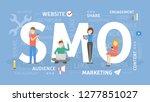 smo concept illustration. idea... | Shutterstock . vector #1277851027