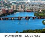 Boston Charles River Aerial...