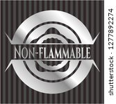 non flammable silvery shiny... | Shutterstock .eps vector #1277892274