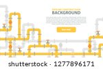 industrial background with... | Shutterstock .eps vector #1277896171