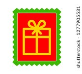 gift stamp icon   gift stamp... | Shutterstock .eps vector #1277905531