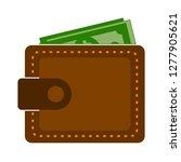wallet icon   money wallet...   Shutterstock .eps vector #1277905621