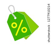 price tag icon vector label tag ... | Shutterstock .eps vector #1277910214