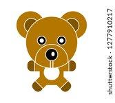 teddy bear icon   teddy bear... | Shutterstock .eps vector #1277910217