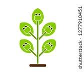 renewable energy pictogram icon ... | Shutterstock .eps vector #1277910451