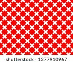 vector trendy red and white... | Shutterstock .eps vector #1277910967