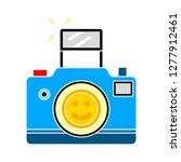 camera icon  camera isolate ... | Shutterstock .eps vector #1277912461