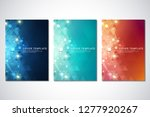vector template for cover or... | Shutterstock .eps vector #1277920267