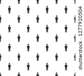 dictator man pattern seamless... | Shutterstock . vector #1277920504