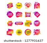 sale banner templates design.... | Shutterstock .eps vector #1277931637