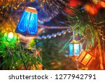feast of christmas. amazing...   Shutterstock . vector #1277942791