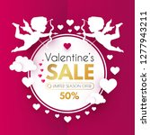 Valentine's Day Sale. Cute...