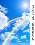 Beautiful Bright Rainbows In...