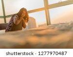 negative emotion concept  ... | Shutterstock . vector #1277970487