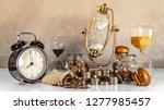 sand running through the shape...   Shutterstock . vector #1277985457