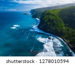 aerial view of the north coast... | Shutterstock . vector #1278010594