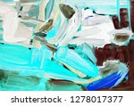 bright multi colored painting ... | Shutterstock . vector #1278017377
