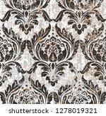 vector damask seamless pattern...   Shutterstock .eps vector #1278019321