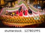 valencia   february 2  several... | Shutterstock . vector #127801991