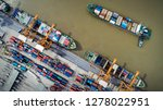 logistics and transportation of ... | Shutterstock . vector #1278022951