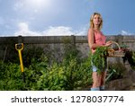 mature woman standing in... | Shutterstock . vector #1278037774