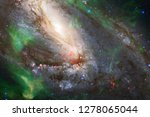 nebulae an interstellar cloud... | Shutterstock . vector #1278065044
