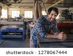 portrait of a smiling... | Shutterstock . vector #1278067444
