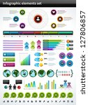 infographics collection vector...