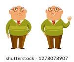 funny cartoon illustration of a ... | Shutterstock .eps vector #1278078907