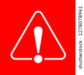 danger warning attention or... | Shutterstock .eps vector #1278078961