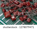 electronic components  lots of... | Shutterstock . vector #1278079471