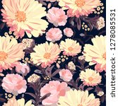 floral seamless pattern.... | Shutterstock .eps vector #1278085531