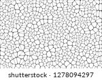 stained glass colorful voronoi... | Shutterstock .eps vector #1278094297