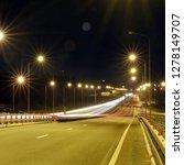 speed traffic at dramatic...   Shutterstock . vector #1278149707