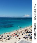 beach view from the riu in... | Shutterstock . vector #1278181717