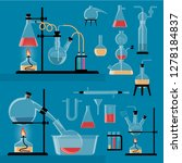 a set of colored chemical...   Shutterstock . vector #1278184837