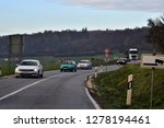 driving in a sunny autumn...   Shutterstock . vector #1278194461
