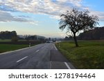 driving in a sunny autumn...   Shutterstock . vector #1278194464