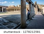 pompeii is the most visited... | Shutterstock . vector #1278212581