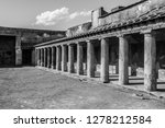 pompeii is the most visited... | Shutterstock . vector #1278212584