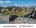 pompeii is the most visited... | Shutterstock . vector #1278212617