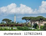 pompeii is the most visited... | Shutterstock . vector #1278212641